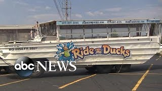 NTSB investigating duck boat accident - ABCNEWS