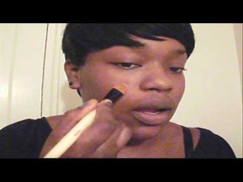 How to apply powder foundation esp for black women WOC brown skin