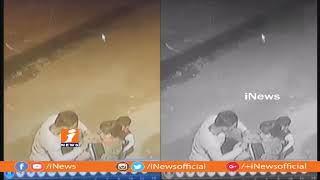 Chain Snatching Caught On CC Camera In Delhi | iNews - INEWS