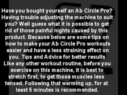 Ab Circle Workout Dvd