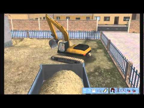 Escavadeira No  Bagger Simulator 2011