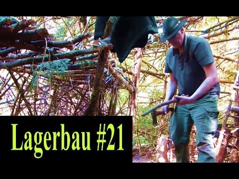 Bushcraft Lagerbau #21