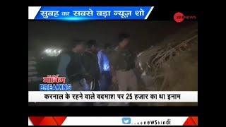 Morning Breaking: Goon extorting BJP leader killed in Greater Noida - ZEENEWS