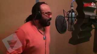بالفيديو| من داخل الاستديو.. أبو الليف يعيد غناء «بوميا»