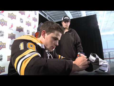 Boston Bruins Rookie Tyler Seguin Gives the Fans What They Want!