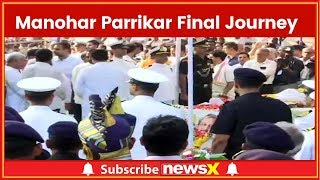 Manohar Parrikar Final Journey Live Updates: Last Rites To Be Performed In Panaji, Goa - NEWSXLIVE