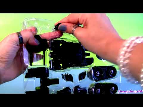 Custom Batmobile Tumbler Building Toys Hot Wheels Custom Motors how-to customize Batman Car Toy