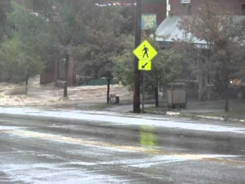 Downtown Brandon Hurricane Irene Flooding
