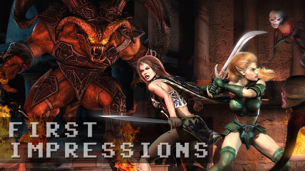 Everquest II Free to Play Gameplay - First Impressions HD