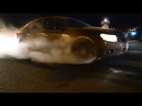 gray chevy cruze burnout _ برن اوت كروز 2