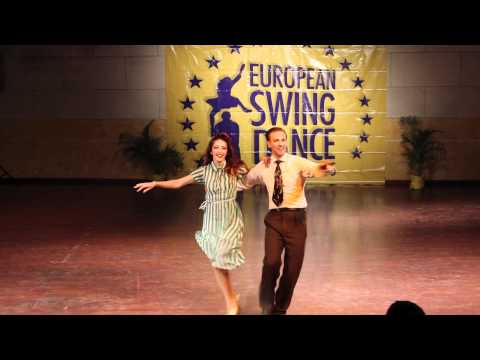 ESDC 2012 - Classic Lindy Hop Showcase Dax Hock &amp; Sarah Breck