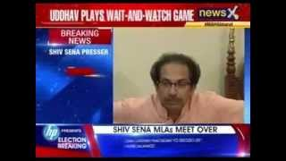Shiv Sena MLAs meet over - NEWSXLIVE