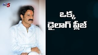 People wants Balayya Dialogue in Assembly : TV5 News - TV5NEWSCHANNEL
