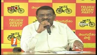 Minister Pithani Satyanarayana Speaks To Media In NTR Trust Bhavan | iNews - INEWS