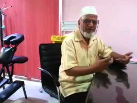 Hijama in Bangalore - Mr. Mahboob Ali Feels Like Re-Birth After Hijama (Cupping Therapy)