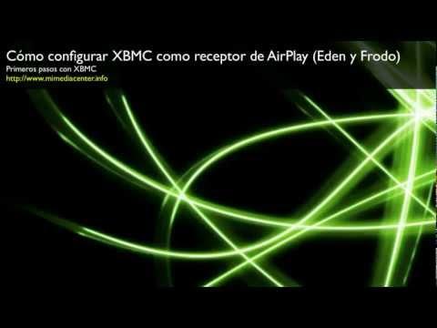 Primeros pasos en XBMC: Cómo configurar XBMC como receptor de AirPlay