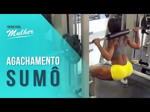 Treino com Denise Rodrigues: Como fazer agachamento sumo