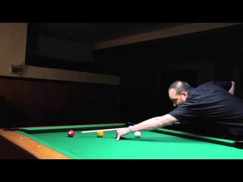 How to Make a Combo Shot in Pool : Billiards Lessons