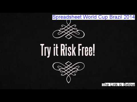 Spreadsheet World Cup Brazil 2014 Download Free [Free of Risk Download 2014]