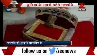 Surat: Diamond businessman makes Ganesh statue worth Rs 600 cr - ZEENEWS