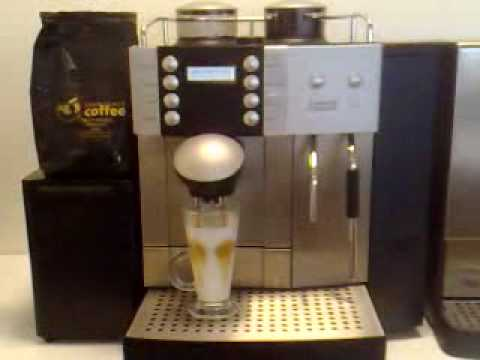 Commercial Coffee Machine Demo