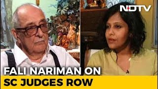 Why Fali Nariman Opposes Chief Justice's Impeachment - NDTV