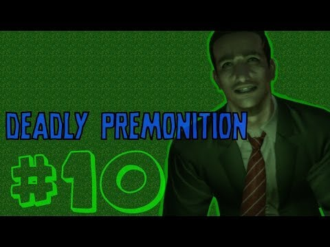 Lets Play : Deadly Premonition [10] Da Hosbidal is fo poan!