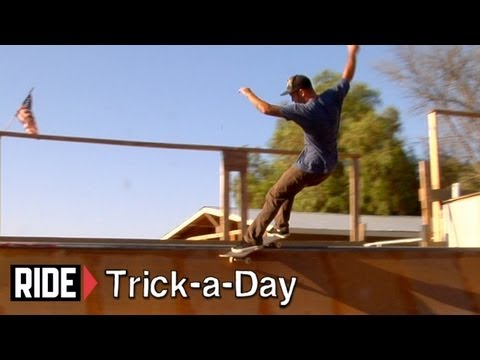 How-To Skateboarding: Frontside Smith on a Mini Ramp with Kyle Berard
