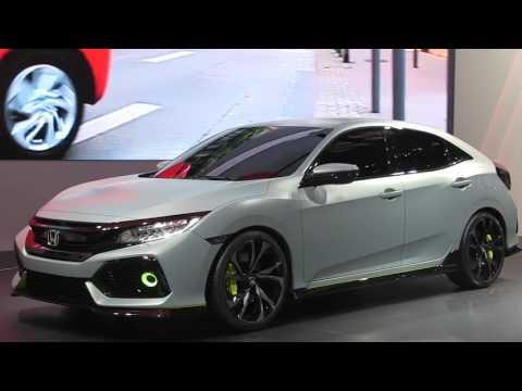 Autoperiskop.cz  – Výjimečný pohled na auta - Autosalon Ženeva 2016 – Honda Civic – VIDEO