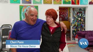 California Tile House: Couple's 25 Year Labor of Love - VOAVIDEO