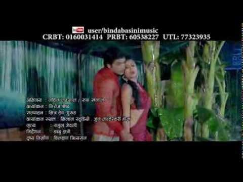 Jharile Rujhdaa   झरिले रुझ्दा पनि मेरो तन मन जलेको छ  Full Video  Bindabasini Music_Durga Kharel