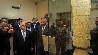 الحكومة العراقية تعيد فتح المتحف الوطني
