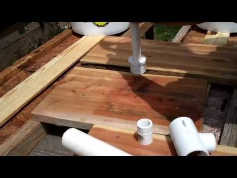 How to Build an Enclosed Automatic Bell Siphon for Aquaponics