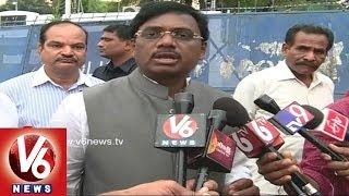 MP.G. Vivek requests Governor To take action On Kiran Kumar - V6NEWSTELUGU