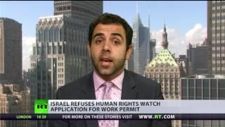 'It puts Israel in group of Cuba, N. Korea and Sudan' - HRW director on work permit refusal - RUSSIATODAY