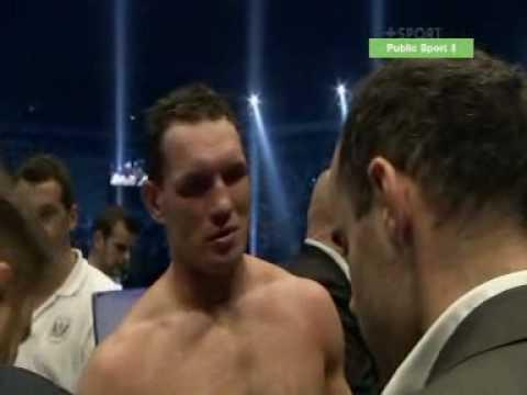 10 runda walki Sosnowski - Kliczko