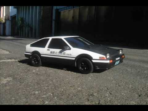 Initial D RC Car Drifting