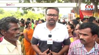 GVMC Workers Protest at Visakapatanam Muncipal Corporation | CVR News - CVRNEWSOFFICIAL