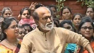 Will reach out to HD Kumaraswamy on Cauvery issue: Rajinikanth - TIMESOFINDIACHANNEL