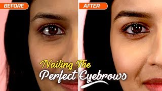How To Achieve The Perfect Eyebrows | Makeup Tutorial | Smart & Easy - ZOOMDEKHO