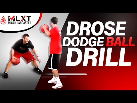 Derrick Rose Dodge Ball Drill - For Ultimate Quickness and Game Reactions