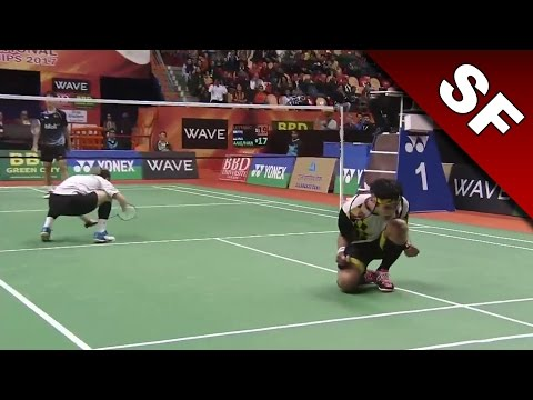 Syed Modi International Badminton C'ships 2017 | SF | Lu/Yang vs Ang/Har [HD]