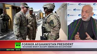 If US begins to behave as invader, Afghans would not accept occupation – ex-President Karzai - RUSSIATODAY