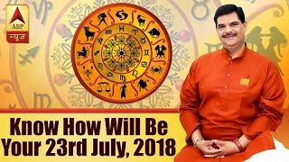 GuruJi with Pawan Sinha: Know how will be your 23rd July, 2018 based on your zodiac sign - ABPNEWSTV