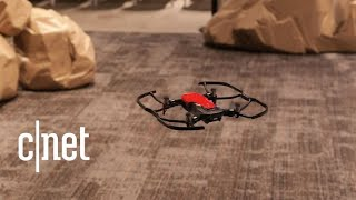 DJI Mavic Air folding 4K drone that avoids obstacles and flies by hand gestures - CNETTV
