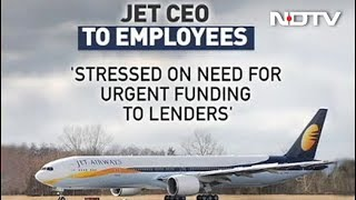 """""""Will Work With Lenders To Revive Airline"""": Jet CEO To Employees - NDTV"""