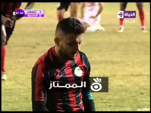 اهداف مباراة الزمالك والداخلية الدورى المصرى 5/1/2016