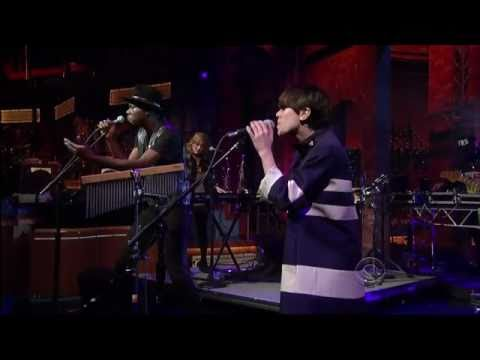 Theophilus London feat. Sara Quin - Why Even Try? @ Letterman 02/14/11
