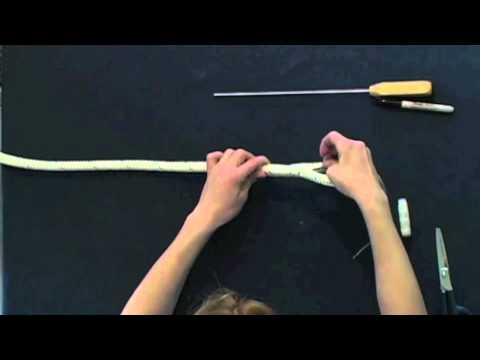 Class 1 Double Braid Eye Splice Part 2