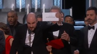 Oscars Mistake: Moonlight Wins Best Picture after La La Land Mistakenly Announced | ABC News - ABCNEWS
